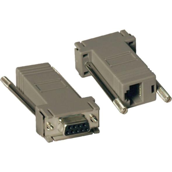 Tripp Lite Null Modem Serial RS232 Modular Adapter Kit 2x DB9F to RJ45F - P450-000