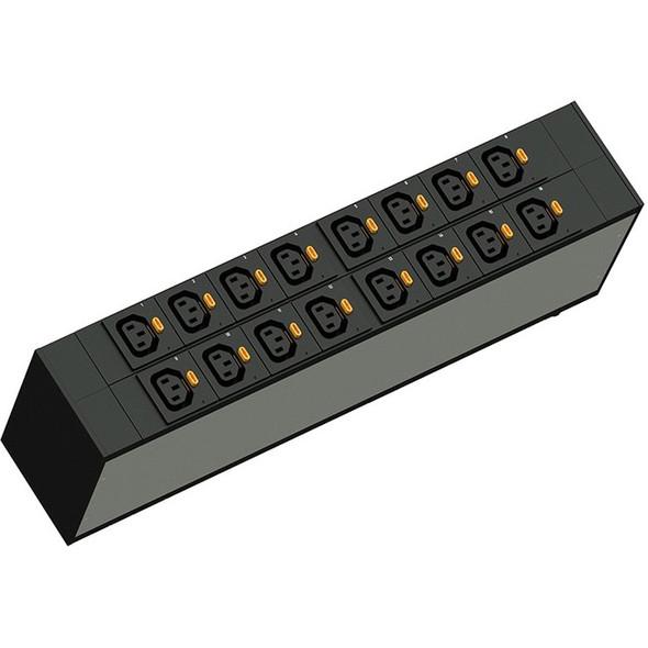 Legrand Rack PDU, Network Switch, ZeroU, 24A, 208V, (21) C13 & (3) C19, L6-30P Cord - LP-62320