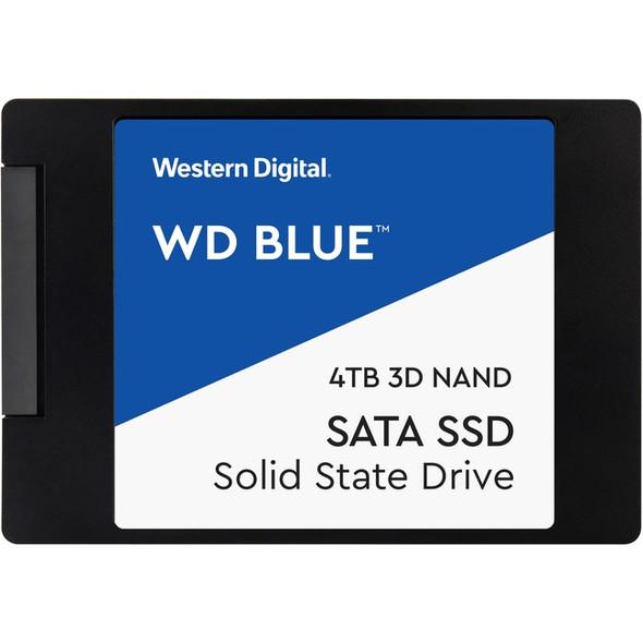 """WD Blue WDS400T2B0A 4 TB Solid State Drive - 2.5"""" Internal - SATA (SATA/600) - WDS400T2B0A"""