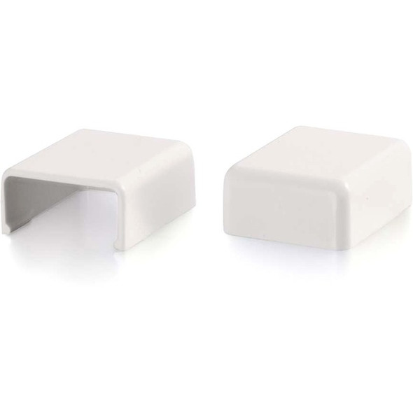 C2G Wiremold Uniduct 2700 Blank End Fitting - White - 16048