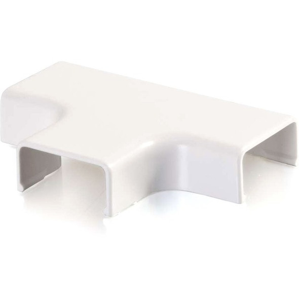 C2G Wiremold Uniduct 2700 Tee - White - 16056