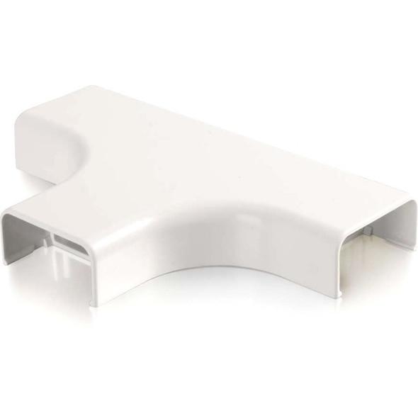 C2G Wiremold Uniduct 2900 Bend Radius Compliant Tee - White - 16060