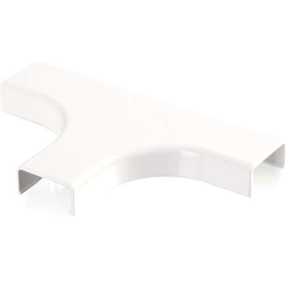 C2G Wiremold Uniduct 2800 Bend Radius Compliant Tee - White - 16059