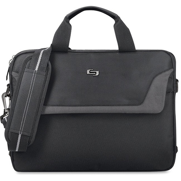 "Solo Sterling Carrying Case for 14"" to 14.1"" Notebook - Black - CLA112-4"