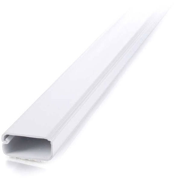 C2G 2 pack 6ft Wiremold Uniduct 2900 - White - 16079