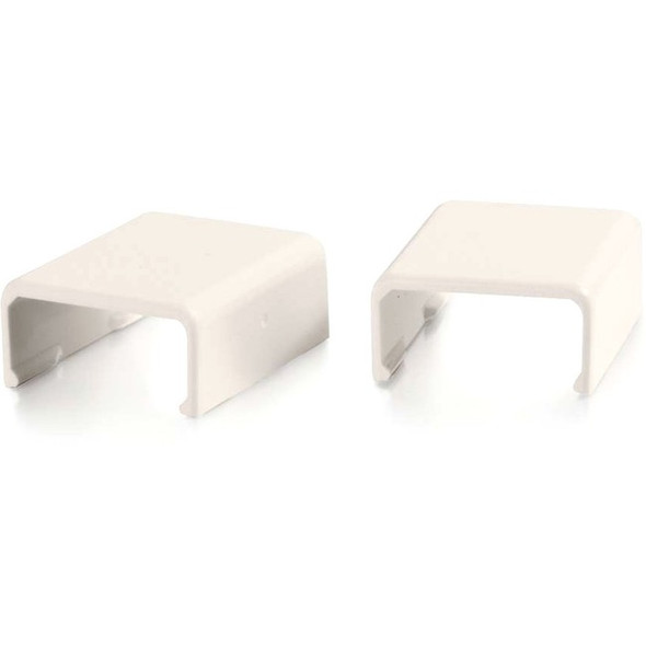 C2G Wiremold Uniduct 2700 Cover Clip - Fog White - 16090