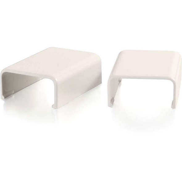 C2G Wiremold Uniduct 2800 Cover Clip - Fog White - 16091