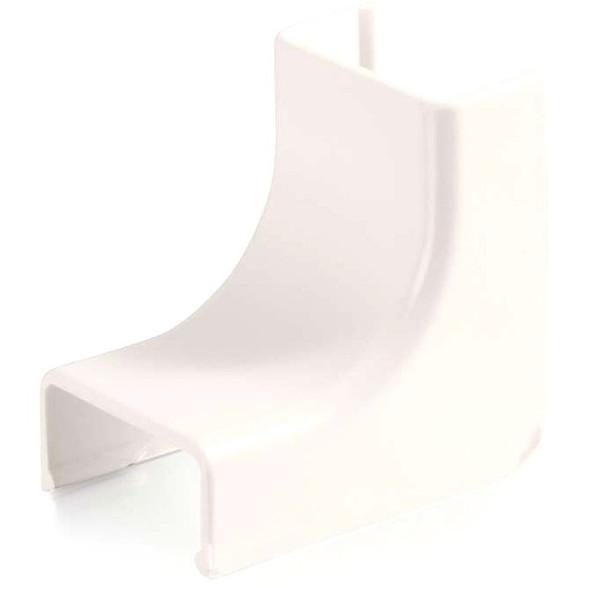 C2G Wiremold Uniduct 2700 Internal Elbow - Fog White - 16106