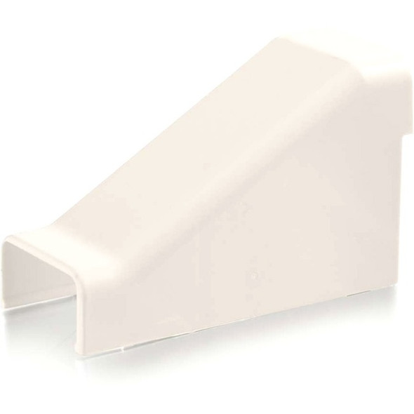 C2G Wiremold Uniduct 2800 Drop Ceiling Connector - Fog White - 16117