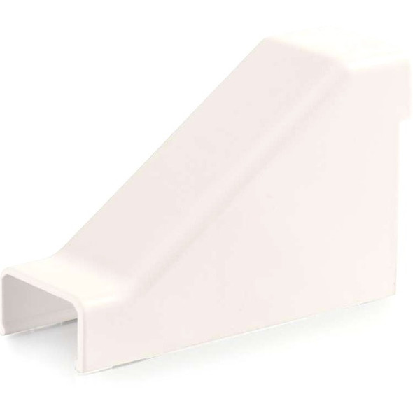 C2G Wiremold Uniduct 2700 Drop Ceiling Connector - Fog White - 16116