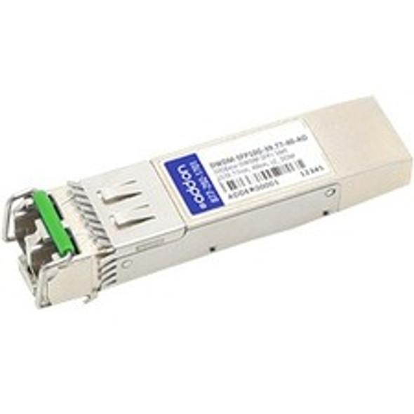 AddOn Cisco DWDM-SFP10G-31.90 Compatible TAA Compliant 10GBase-DWDM 100GHz SFP+ Transceiver (SMF, 1531.90nm, 40km, LC, DOM) - DWDM-SFP10G-31.90-40-AO
