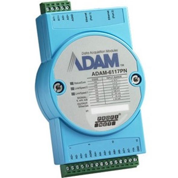 Advantech 8-Channel Isolated Analog Input PROFINET Module - ADAM-6117PN-AE