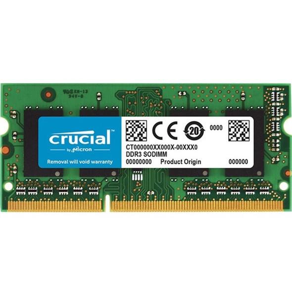 Crucial 8GB (1 x 8 GB) DDR3 SDRAM Memory Module - CT102464BF160B