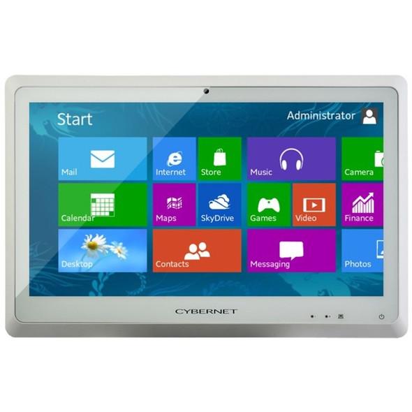 "Cybernet CyberMed C22 All-in-One Computer - Core i3 i3-4130 - 4 GB RAM - 250 GB HDD - 22"" 1920 x 1080 Touchscreen Display - Desktop - White - CYBERMED-C22"