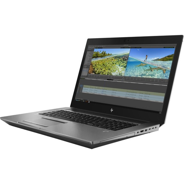 """HP ZBook 17 G6 17.3"""" Touchscreen Mobile Workstation - 3840 x 2160 - Core i7 i7-9850H - 16 GB RAM - 512 GB SSD - 8FP54UT#ABA"""