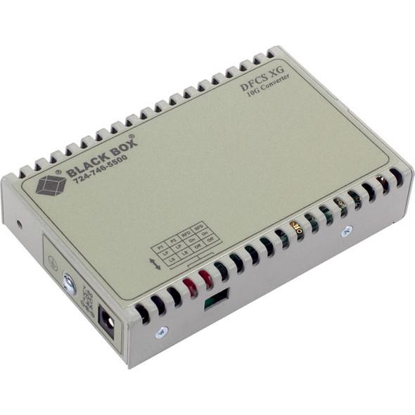 Black Box Dynamic Fiber Conversion System Media Converter 10-Gigabit Ethernet SFP+ - LMC11012A-R2