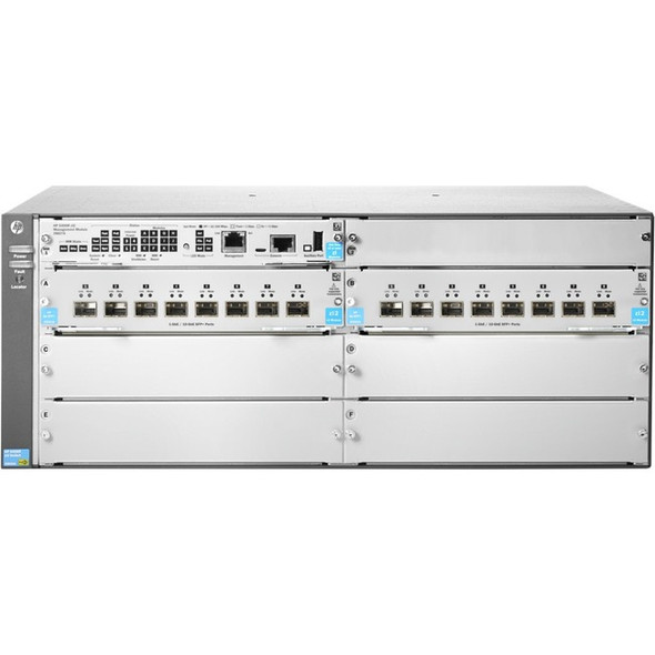 HPE 5406R 16-port SFP+ (No PSU) v3 zl2 Switch - JL095A