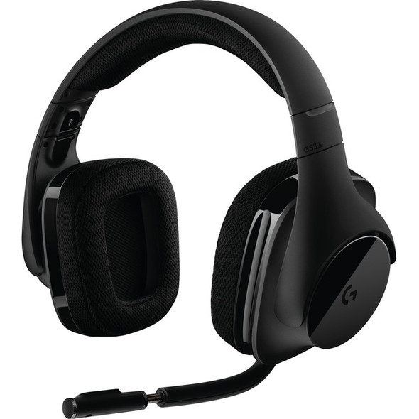 Logitech G533 Wireless Dts 7.1 Surround Gaming Headset - 981-000632