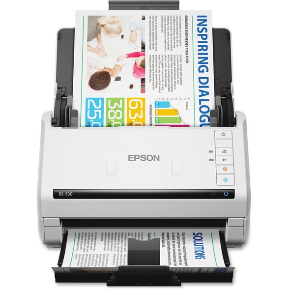 Epson WorkForce DS-530 Sheetfed Scanner - 300 dpi Optical - B11B236201