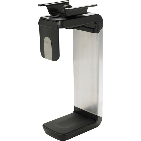 Humanscale Cpu Holder In In Brushed Aluminium Or Black - CPU600
