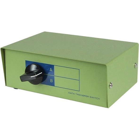 Monoprice DB9 Female, AB 2 Way Switch Box - 1342