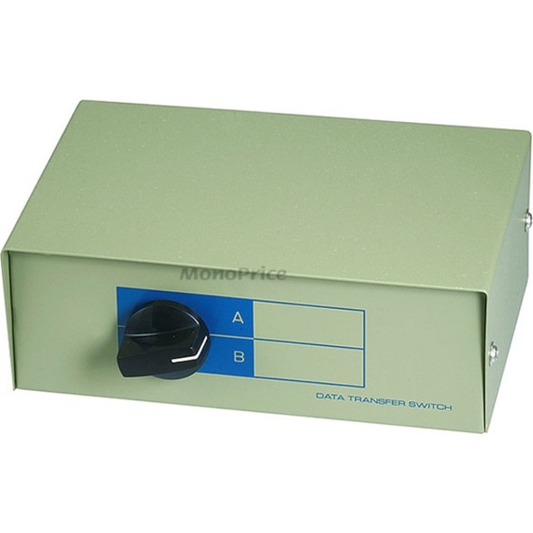 Monoprice DB15, AB 2 Way Switch Box - 1347