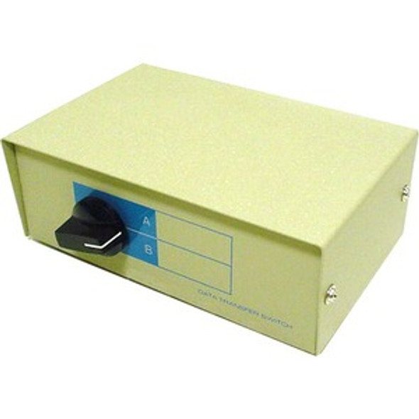 Monoprice DB25, AB 2 Way Switch Box - 1352