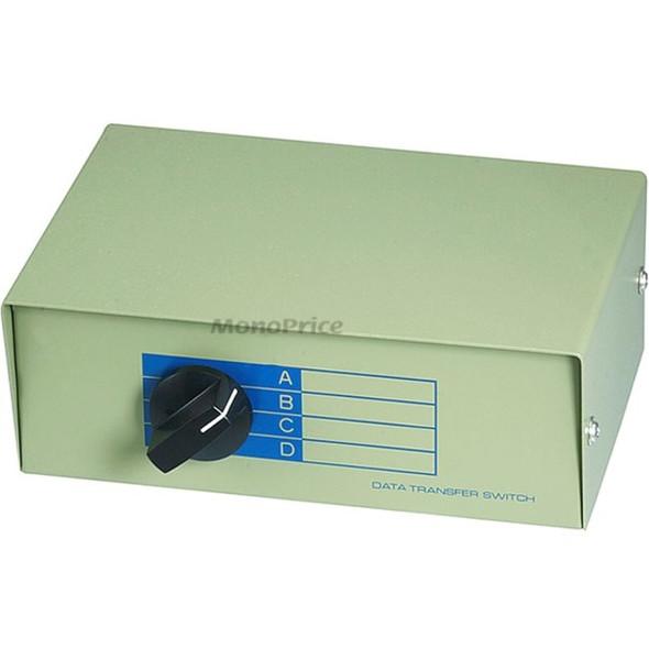 Monoprice RJ45 ABCD 4Way, Switch Box - 1374