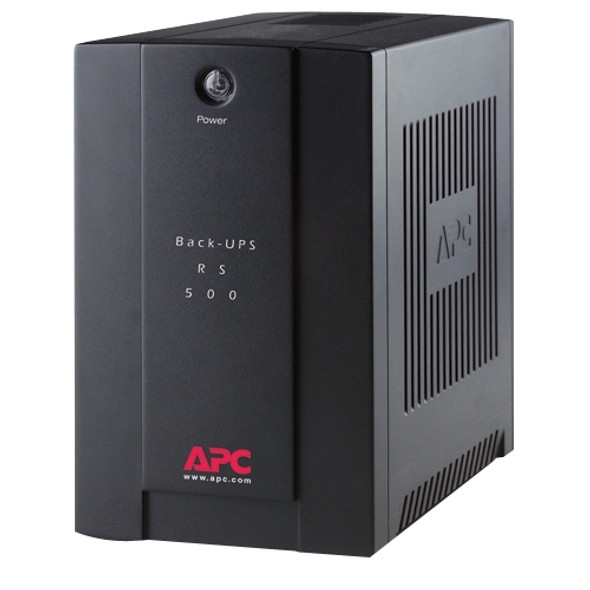 APC by Schneider Electric Back-UPS RS BR500CI-AS 500 VA Tower UPS - BR500CI-AS