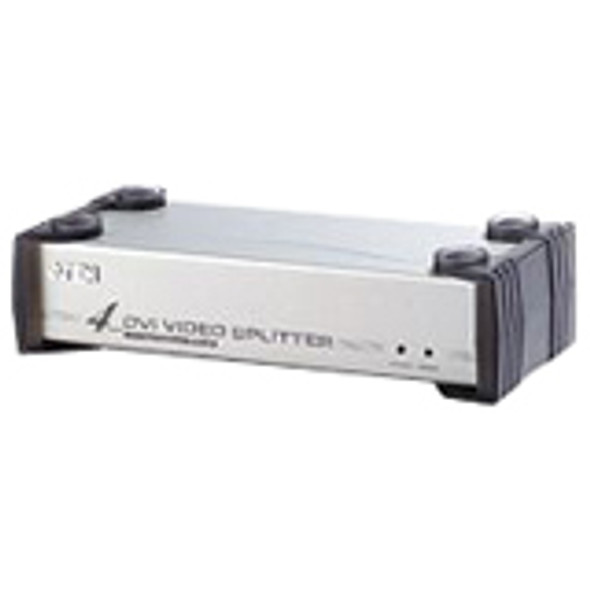 Aten VS164 4-port DVI VGA Splitter-TAA Compliant - VS164
