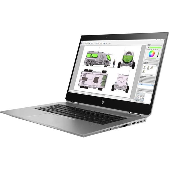 "HP ZBook Studio x360 G5 15.6"" Touchscreen 2 in 1 Mobile Workstation - 1920 x 1080 - Core i5 i5-8300H - 8 GB RAM - 256 GB SSD - 4NL02UT#ABA"