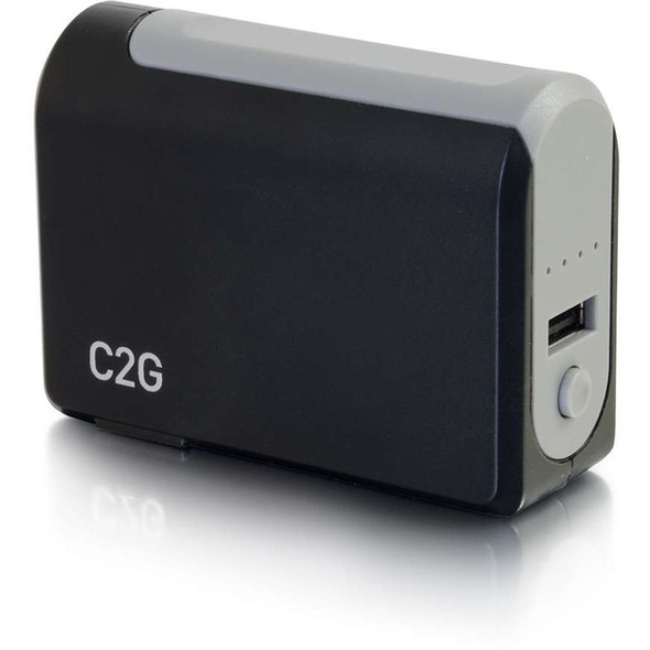C2G 1-Port USB Wall Charger - AC to USB Adapter with Power Bank, 5V 1A Output - 20275