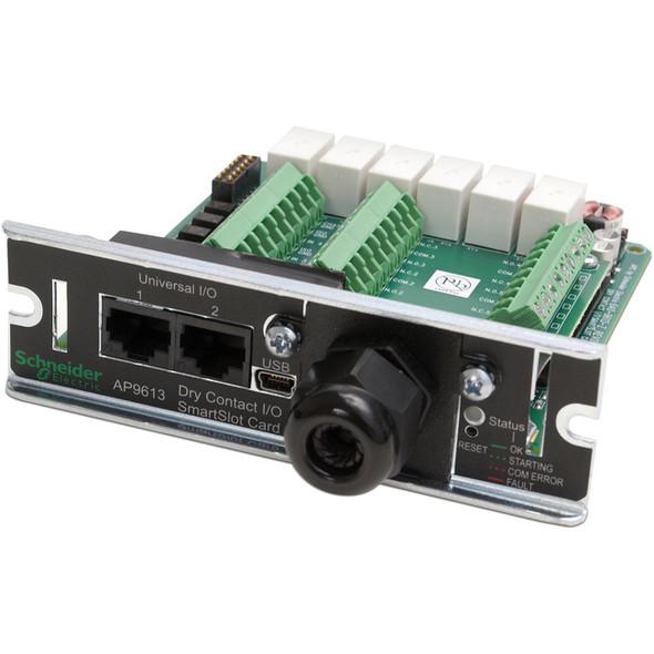 APC by Schneider Electric Dry Contact I/O SmartSlot Card - AP9613