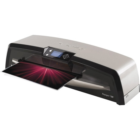 Fellowes Voyager 125 Laminator with Pouch Starter Kit - 5218601
