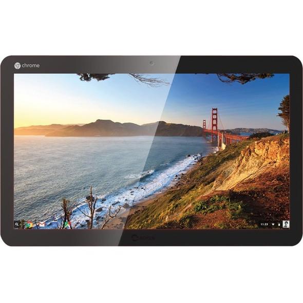 "AOpen Chromebase All-in-One Computer - Celeron N2930 - 4 GB RAM - 32 GB SSD - 21.5"" 1920 x 1080 Touchscreen Display - Desktop - Gunmetal Gray - 91.WTG00.0010"