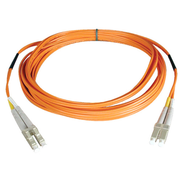 Tripp Lite 0.3M Duplex Multimode 62.5/125 Fiber Optic Patch Cable LC/LC 1' 1ft 0.3 Meter - N320-001