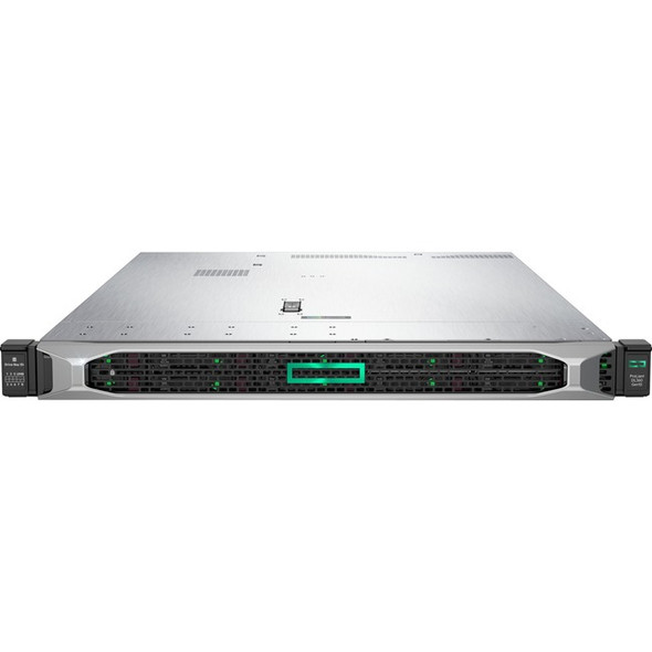 HPE ProLiant DL360 G10 1U Rack Server - 1 x Xeon Silver 4214 - 16 GB RAM HDD SSD - Serial ATA/600, 12Gb/s SAS Controller - P19775-B21