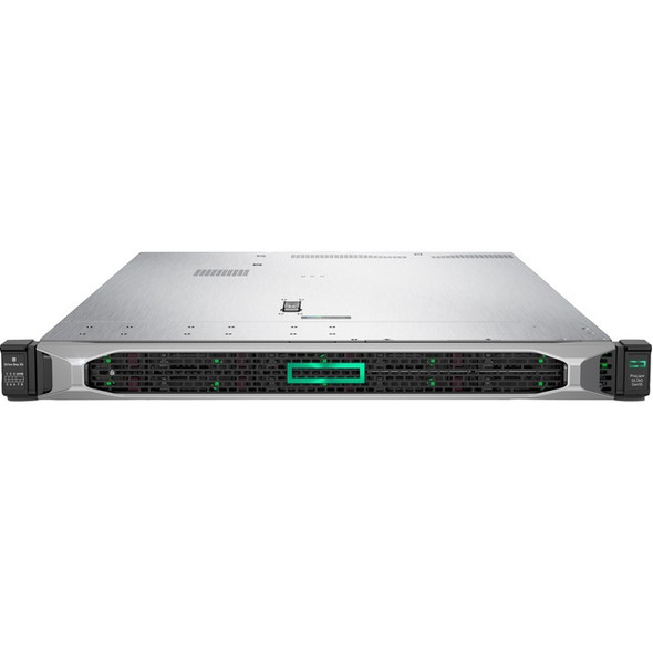 HPE ProLiant DL360 G10 1U Rack Server - 1 x Xeon Silver 4208 - 16 GB RAM HDD SSD - Serial ATA/600, 12Gb/s SAS Controller - P19774-B21