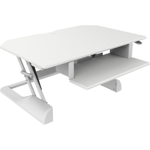 Ergotech Freedom Desk - Height Adjustable Standing Desk - FDM-DESK-W