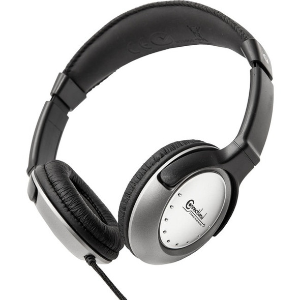 Connectland Stereo PC Headphone with In-line Contrlol and Microphone - CL-CM-502