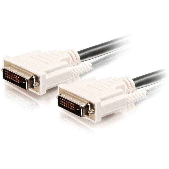 C2G 0.5m DVI-D M/M Dual Link Digital Video Cable (1.6ft) - 26910