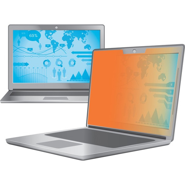 """3M Gold Privacy Filter for 13.3"""" Widescreen Laptop - GF133W9B"""