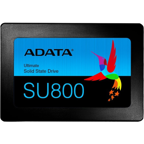 "Adata Ultimate SU800 SU800SS 2 TB Solid State Drive - 2.5"" Internal - SATA (SATA/600) - Black - ASU800SS-2TT-C"