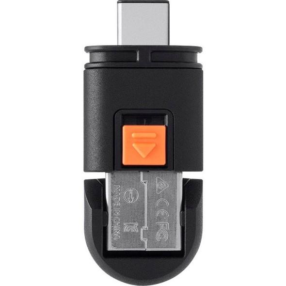 Monoprice Dual Mode USB-C MicroSD Reader - 13506