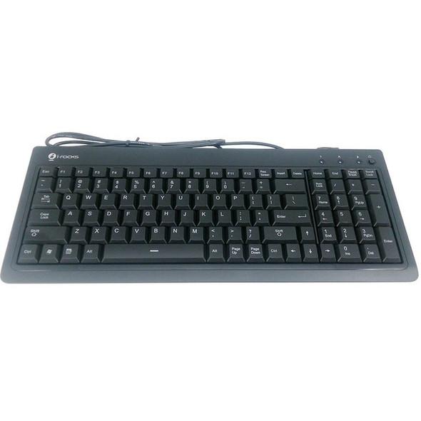 Buslink KR6820E-BK Slim USB Keyboard - KR-6820E-BK