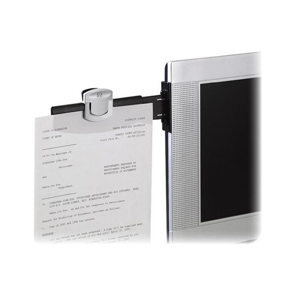 3M Monitor Mount Document Clip - DH240MB