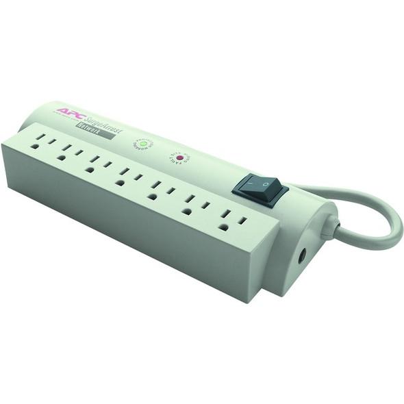 APC by Schneider Electric SurgeArrest Network 7 Outlets 120V - 7 x NEMA 5-15R - 480 J - 120 V AC Input - 120 V DC Output - NET7