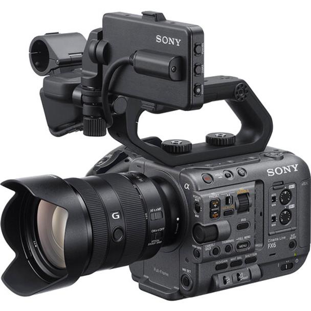 Sony FX6 Cinema Line Full-frame Camera and FE 24-105mm F4 G Kit Lens – ILME-FX6VK
