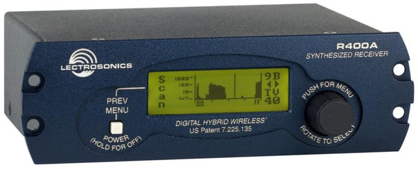 Lectrosonics Digital Hybrid Wireless(R) Microphone Receiver R400A-23