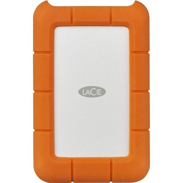 LaCie Rugged Mini 5TB USB 3.1 Type C Orange w/ Data Recovery Services